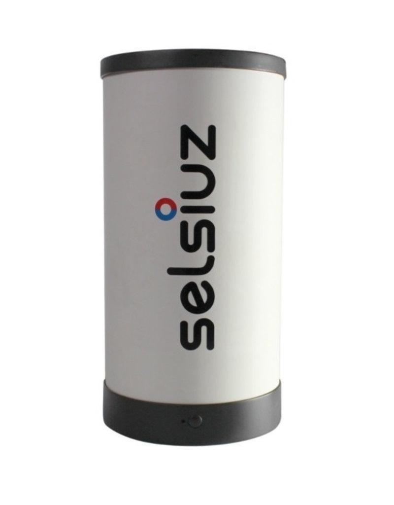 Selsiuz Selsiuz Rond Mat Zwart met Single boiler