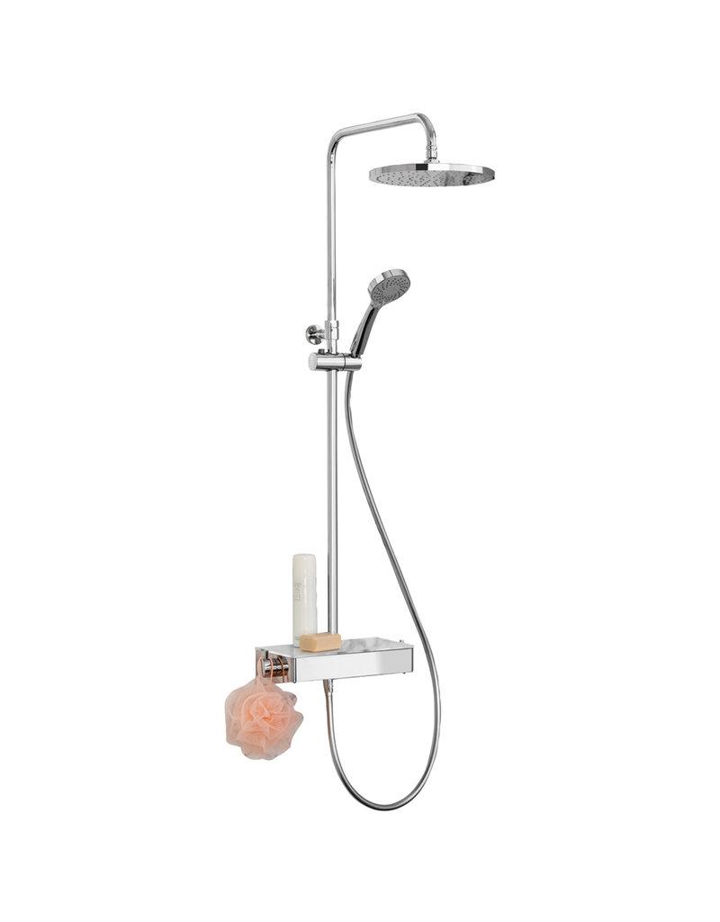 Lanesto Lanesto | Continental douchesysteem met 25cm ronde hoofddouche