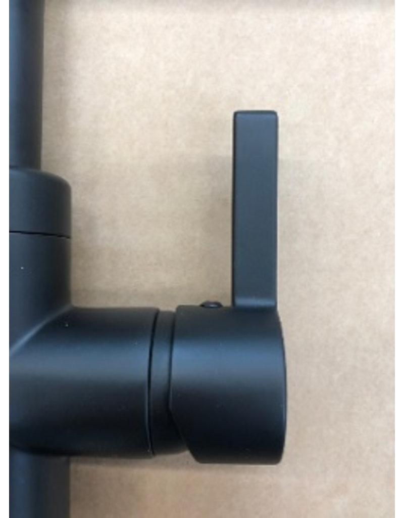 Selsiuz Selsiuz Rond Mat zwart TITANIUM met Combi Extra (Combi+) boiler