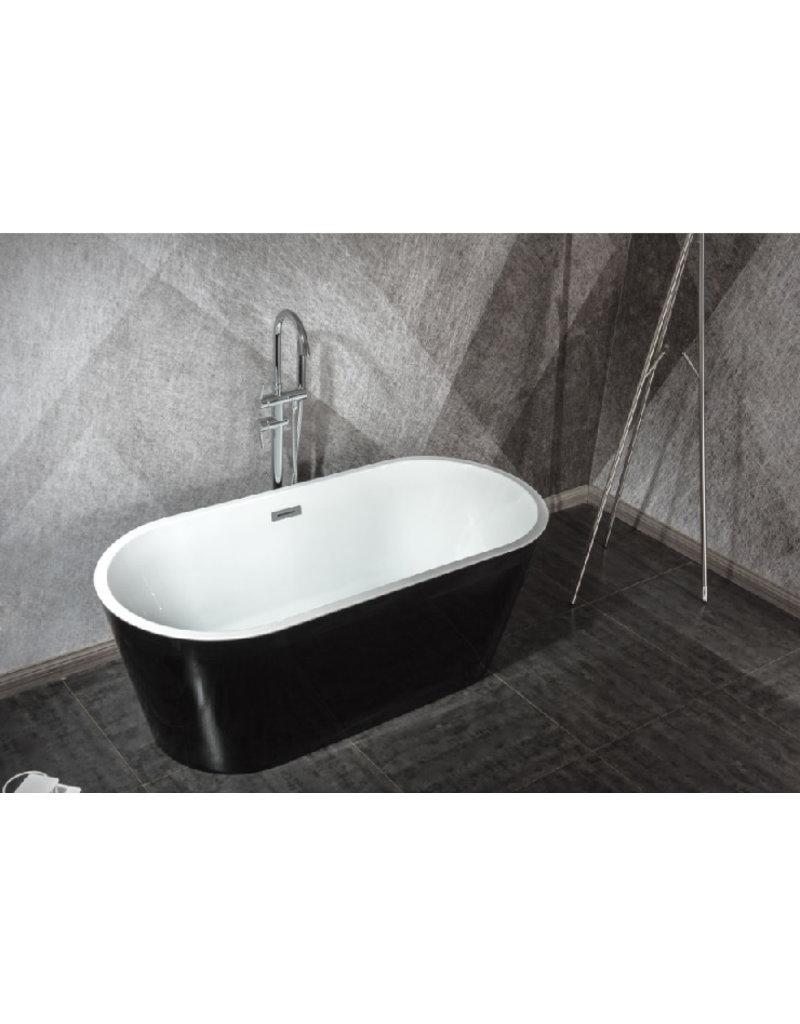 Top Sanitary Design ligbad Teika 170 Zwart