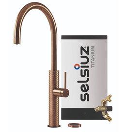 Selsiuz Selsiuz by Gessi 3 in 1 Copper / Koper met TITANIUM Combi Extra(Combi+) boiler