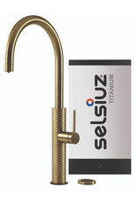 Selsiuz Selsiuz by Gessi 3 in 1 Gold / Goud met TITANIUM Solo boiler