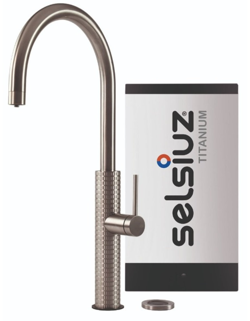 Selsiuz Selsiuz by Gessi 3 in 1 RVS met TITANIUM Solo boiler
