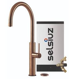 Selsiuz Selsiuz by Gessi 3 in 1 Copper / Koper met Combi Extra(Combi+) boiler
