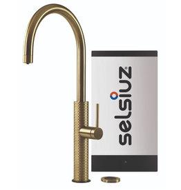 Selsiuz Selsiuz by Gessi 3 in 1 Gold / Goud met Solo boiler
