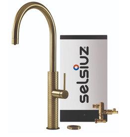 Selsiuz Selsiuz by Gessi 3 in 1 Gold / Goud met Combi boiler