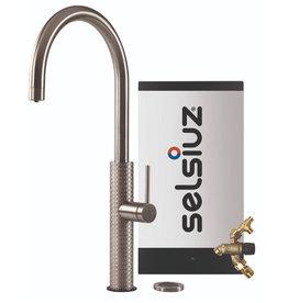 Selsiuz Selsiuz by Gessi 3 in 1 RVS met Combi Extra(Combi+) boiler