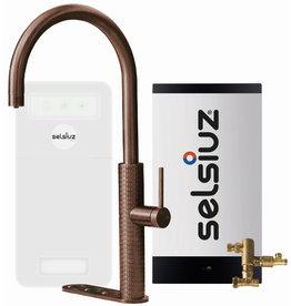 Selsiuz Selsiuz by Gessi 5 in 1 Copper / Koper met Combi boiler en Cooler