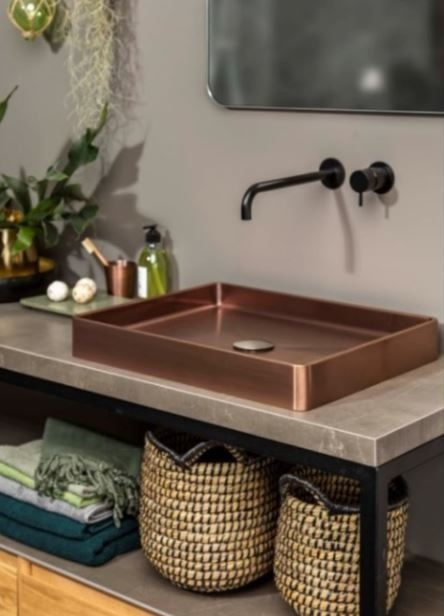 Vanity wastafel met Waterevolution meubel compleet