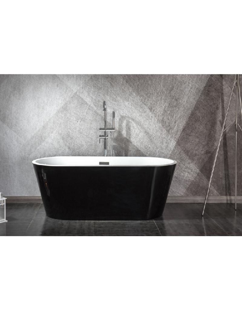 Top Sanitary Design ligbad Teika 150 Zwart