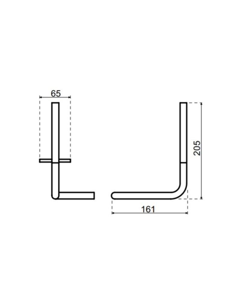 Waterevolution Waterevolution Qisani Flow reserverolhouder Copper / Koper