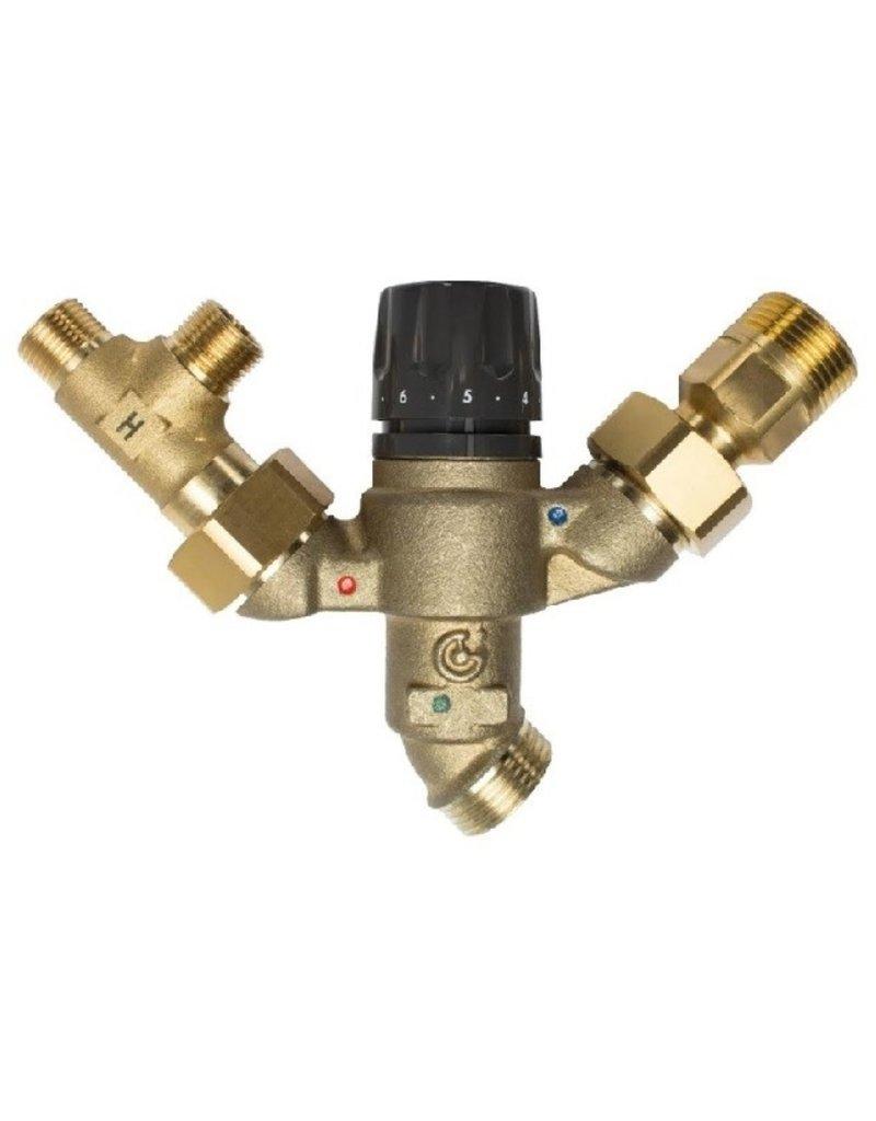 Selsiuz Selsiuz Osiris Cone Counter 3-in-1 Sturdy Black met Combi Extra (Combi+) boiler
