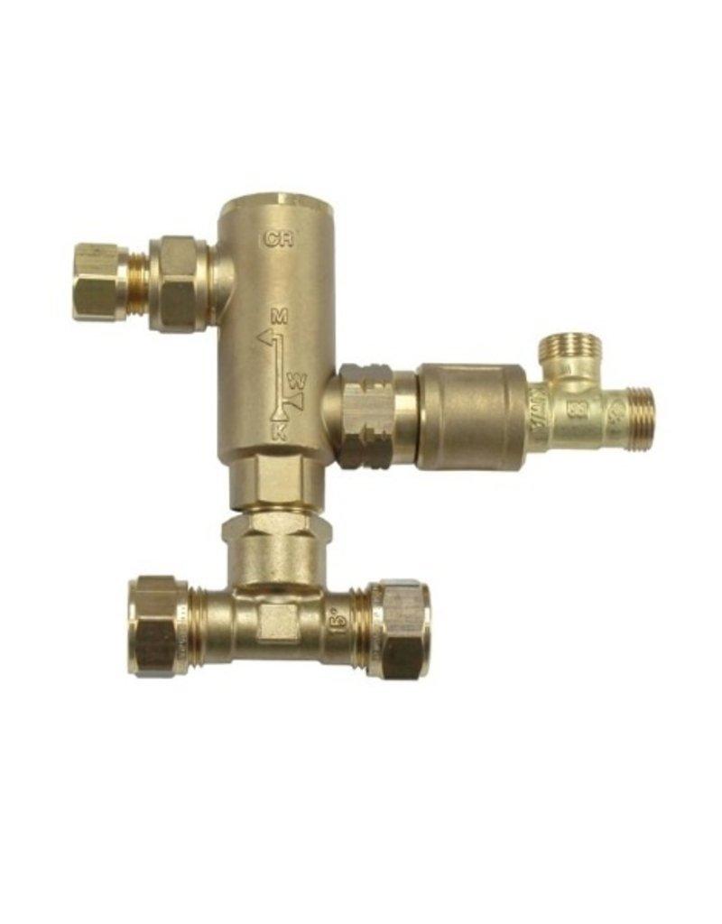 Selsiuz Selsiuz Osiris Cone Counter 3-in-1 Copper / Koper met Combi boiler