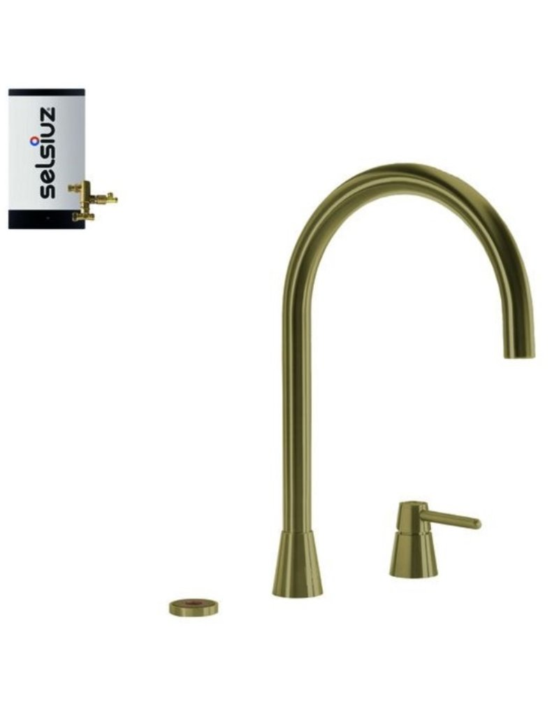 Selsiuz Selsiuz Osiris Cone Counter 3-in-1 Gold / Goud met Combi boiler