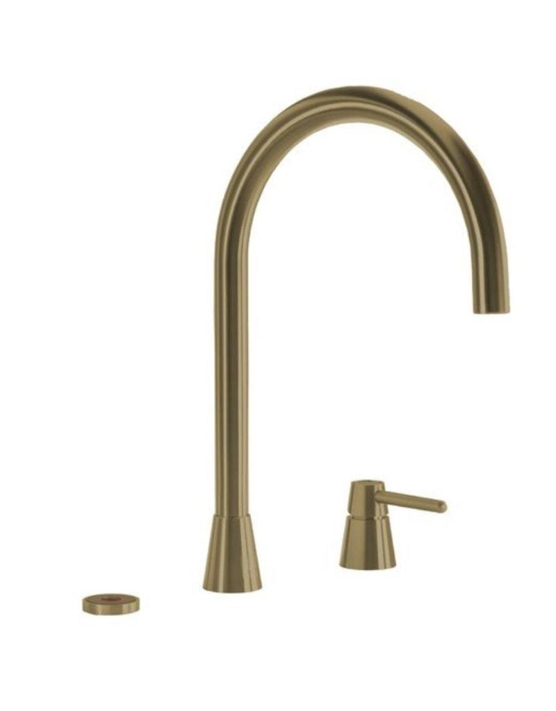 Selsiuz Selsiuz Osiris Cone Counter 3-in-1 Gold / Goud met TITANIUM Combi boiler