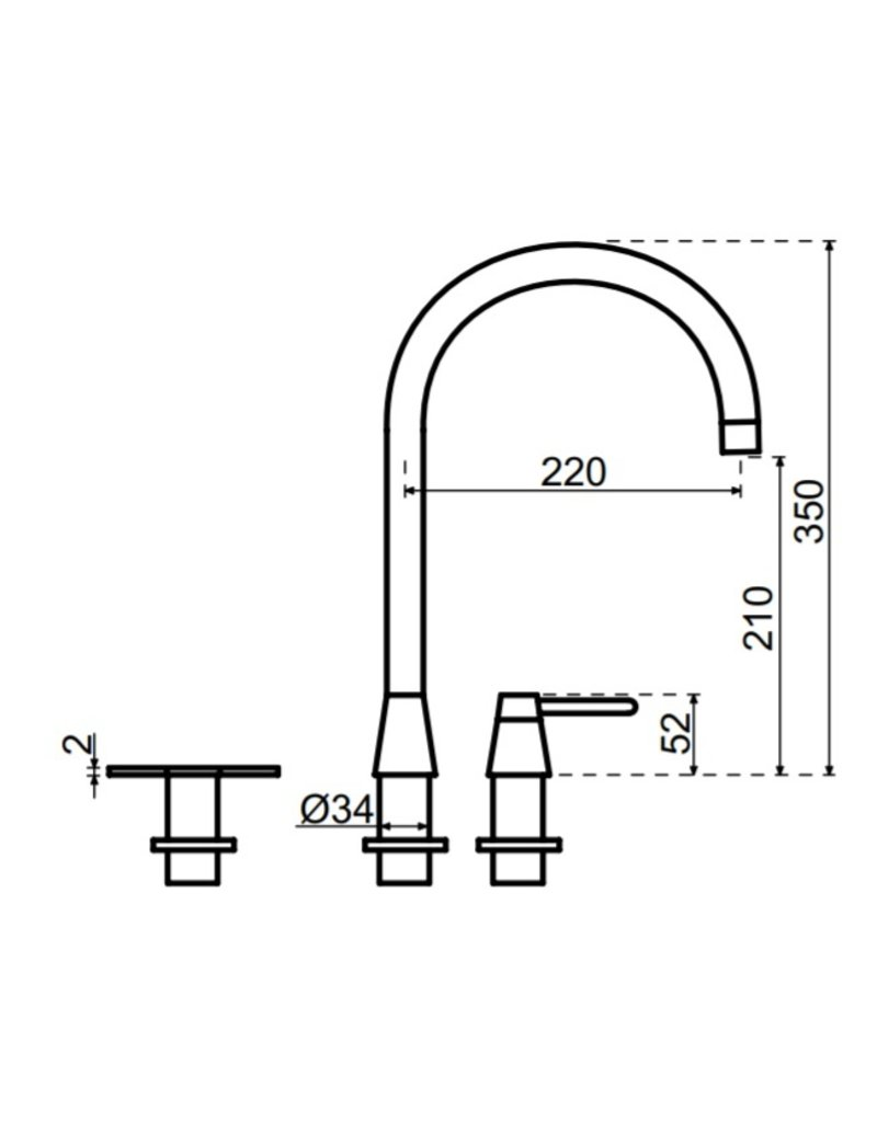 Selsiuz Selsiuz Osiris Cone Counter 5-in-1 Sturdy Black met Solo boiler
