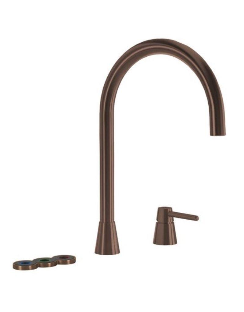Selsiuz Selsiuz Osiris Cone Counter 5-in-1 Copper / Koper met TITANIUM Combi boiler