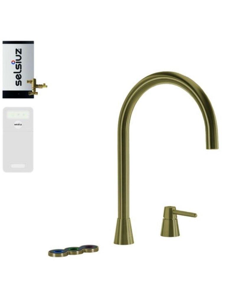 Selsiuz Selsiuz Osiris Cone Counter 5-in-1 Gold / Goud met Combi boiler