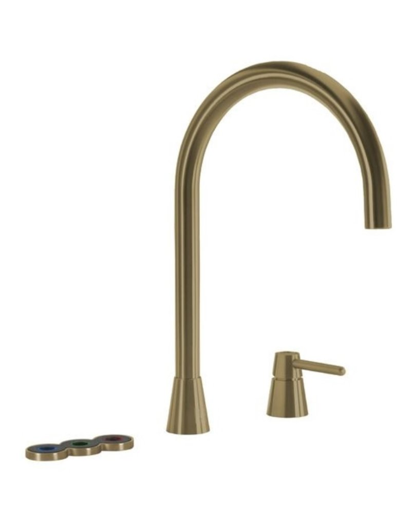 Selsiuz Selsiuz Osiris Cone Counter 5-in-1 Gold / Goud met TITANIUM Single boiler en Cooler