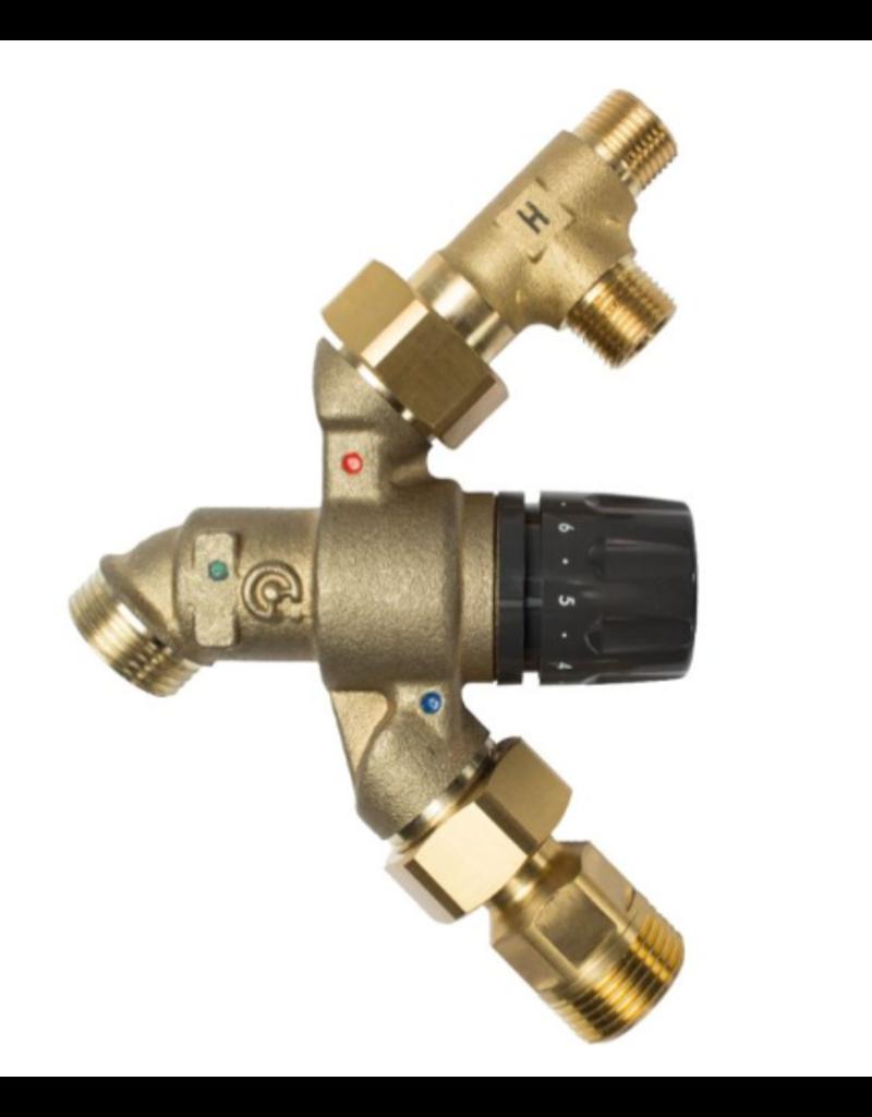Selsiuz Selsiuz Push Rond Inox (RVS) met TITANIUM Combi (Extra) boiler
