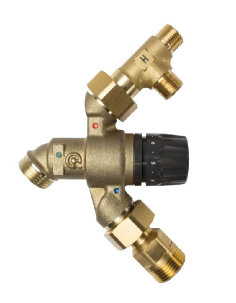 Selsiuz Selsiuz Push Haaks Inox (RVS) met TITANIUM Combi (Extra) boiler