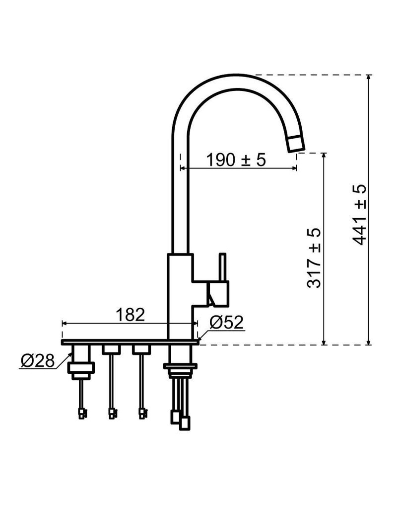 Selsiuz Selsiuz Unlimited 5-in-1 Rond Inox (RVS) met TITANIUM Single boiler en Cooler