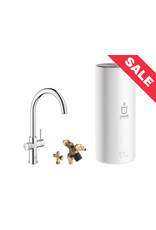 Grohe Grohe Red Duo Rond Chroom met L-size boiler (30031001)