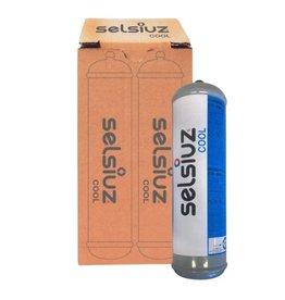 Selsiuz Set van twee koolzuur CO2 vervangingspatronen  voor de Selsiuz Cooler