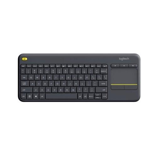 Logitech Ret. Wireless Touch Keyboard K400 Plus