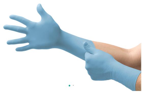 Ansell micro touch nitra tex e.p. nitril handschoenen100 stuks per doos