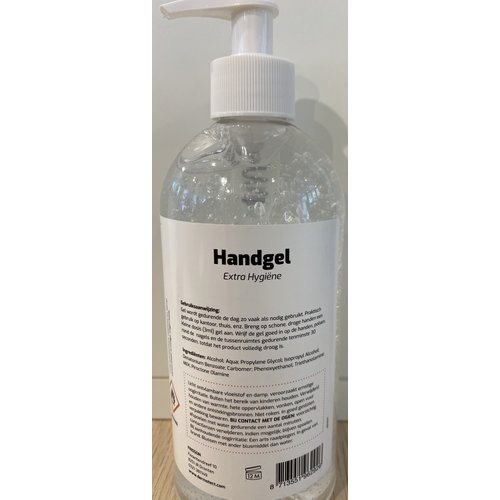 Dermotect disinfectant hand gel 500 ml