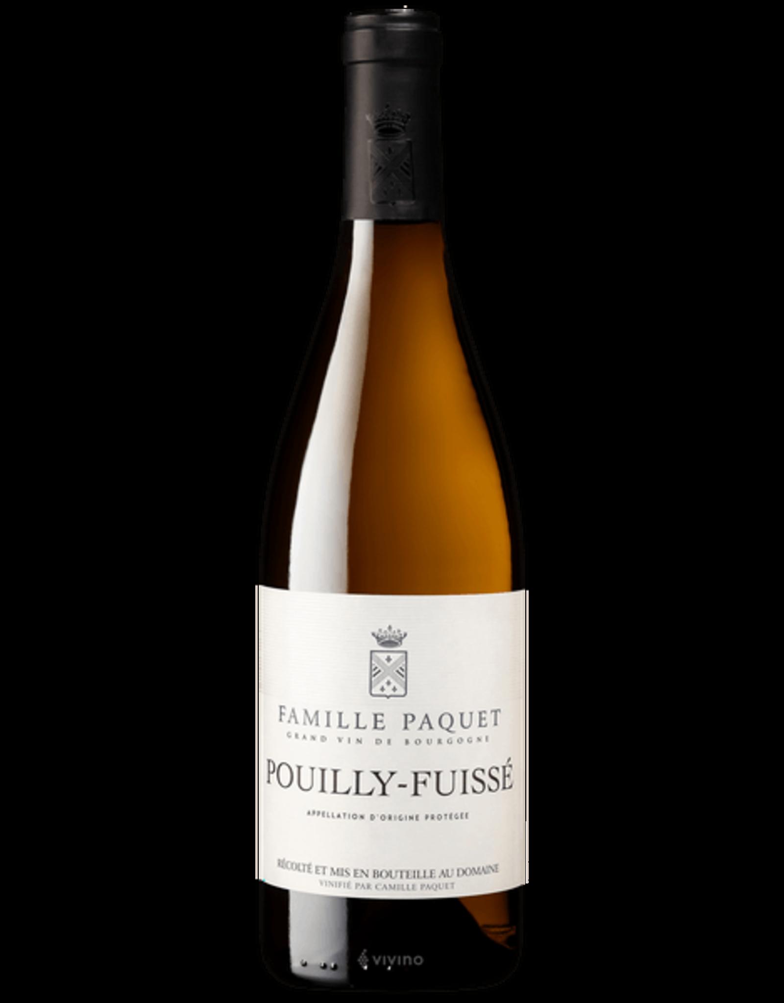 Famille Paquet Pouilly Fuissé