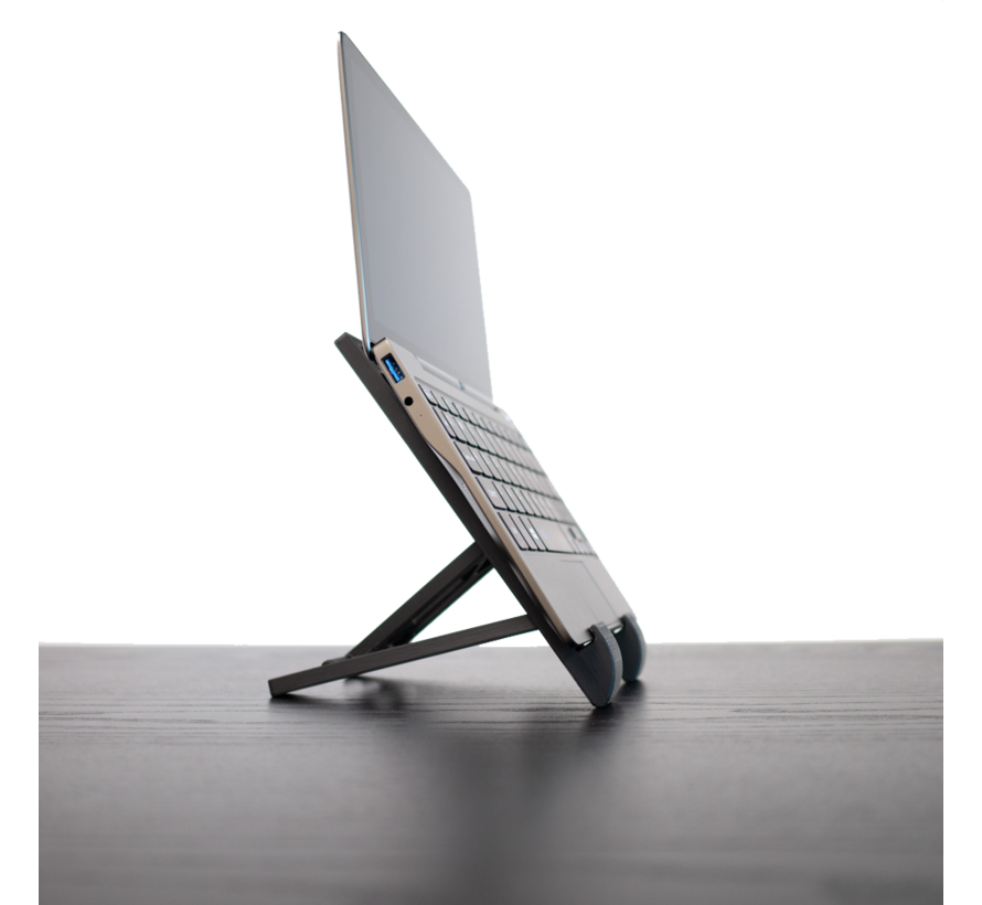 Foldock 13 inch  hoogte instelbare laptop & tablet dock