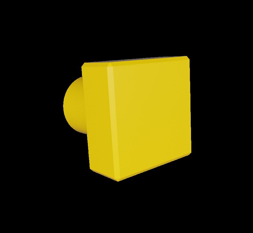 Deurknop Square met vierkante handgreep
