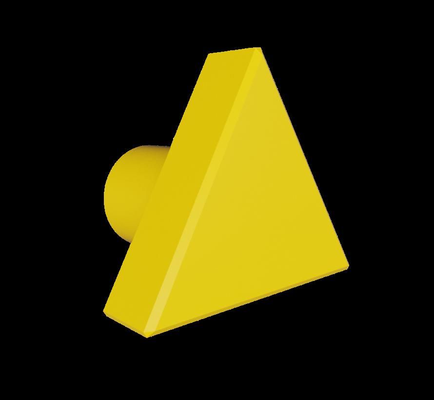 Doorknob with triangle shape