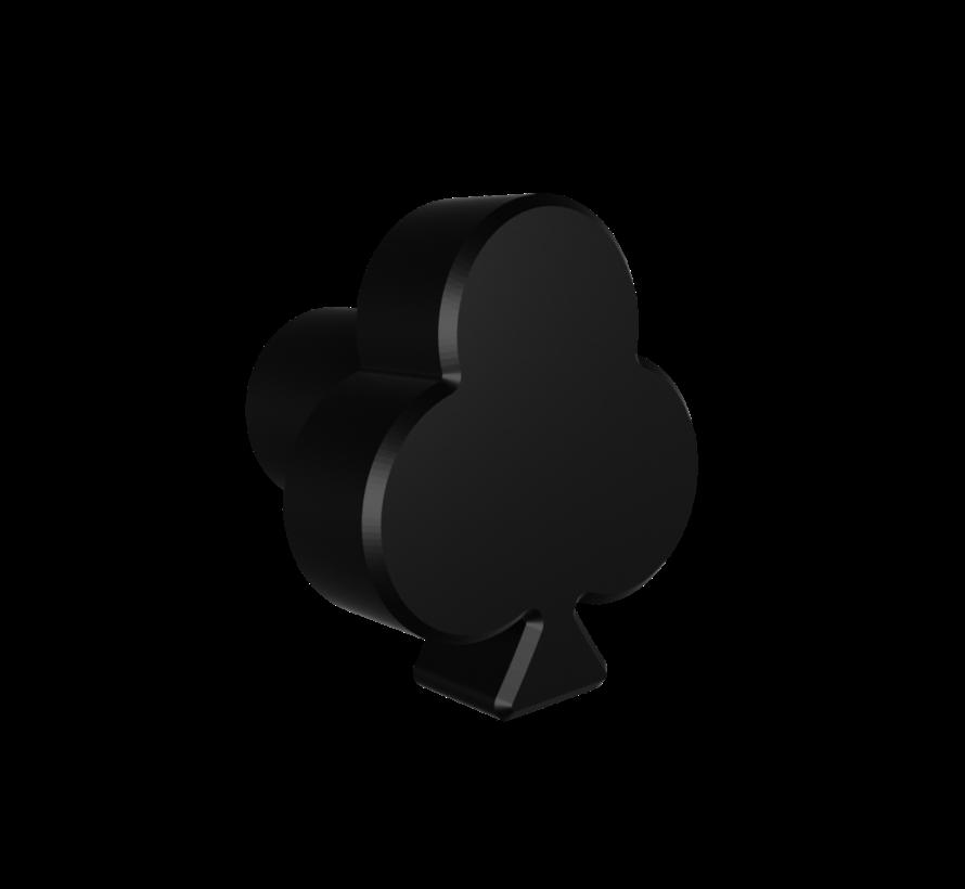 Doorknob with clover shape