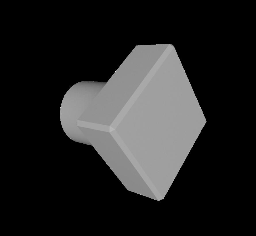 Deurknop Diamond  met ruitvormige handgreep