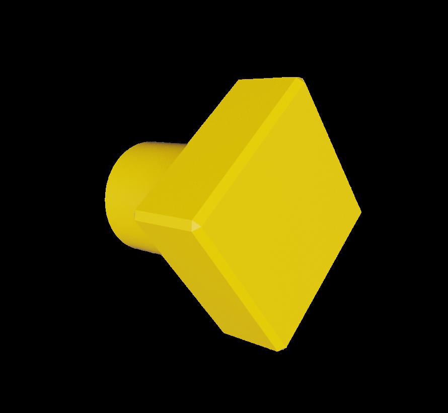 Doorknob wiyh diamond shape