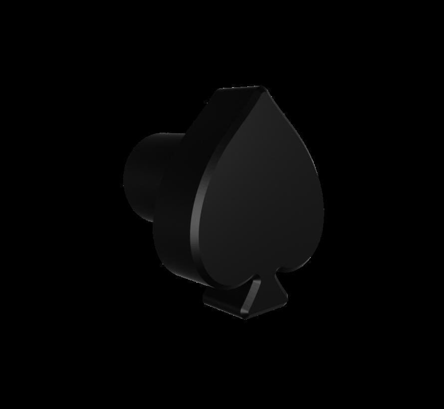 Deurknop Spades met schoppen-vormige handgreep
