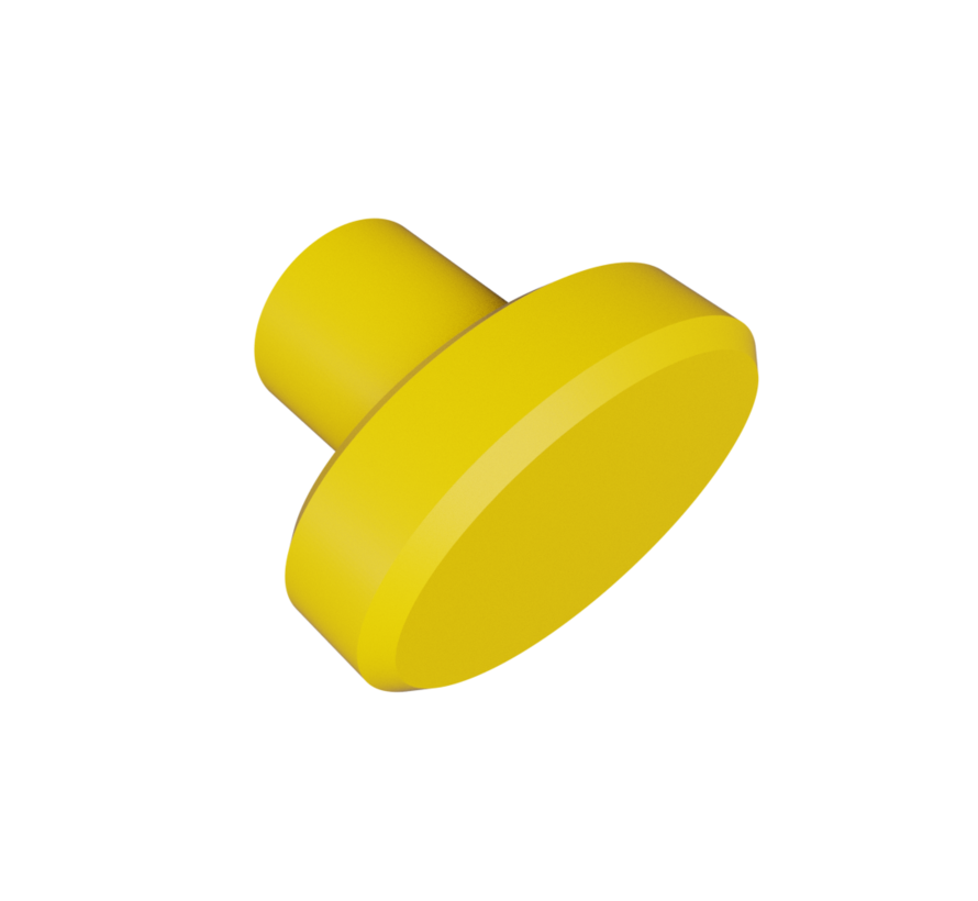 Doorknob with oval shape