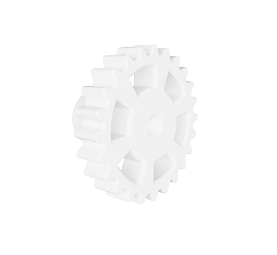 Doorknob with Gear shape