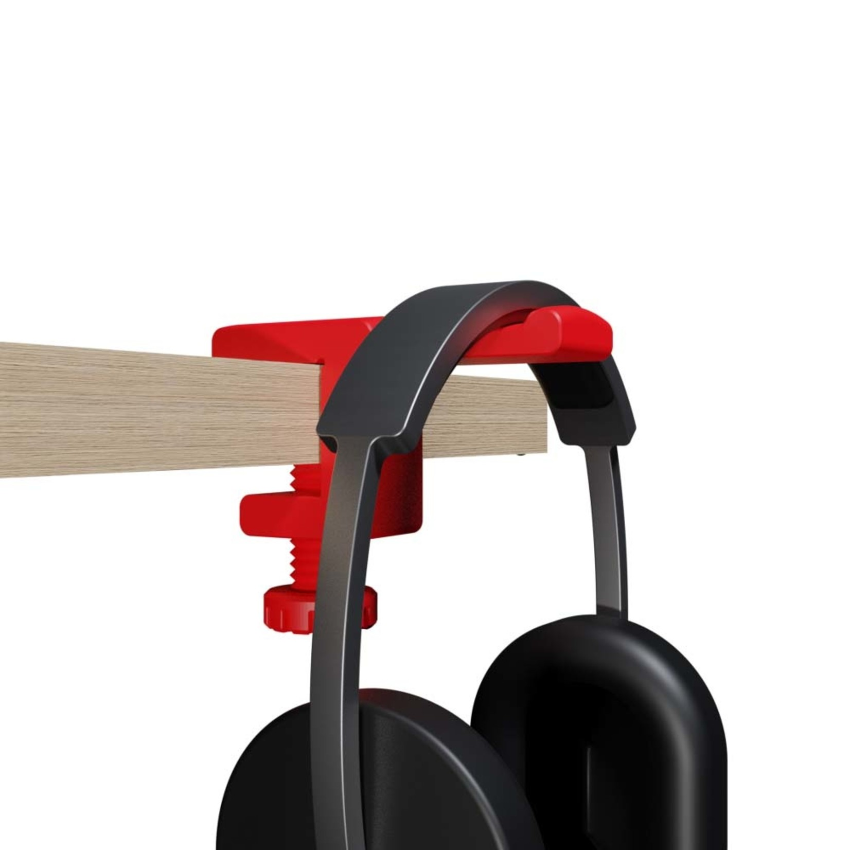 Umake Headphone Clamp   Hang your headphone to every shelf