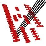Umake Cablecomb customisable - 5 Pieces