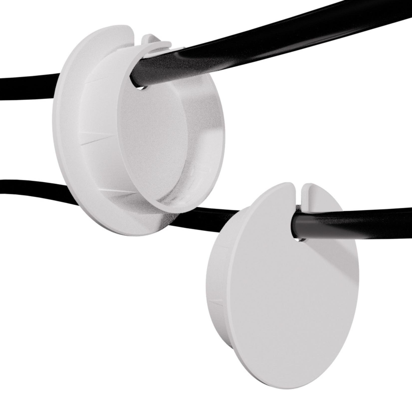 Umake Zijkant kabeldoorvoer Ø 35-60mm | Afmetingen en kleur volledig aanpasbaar