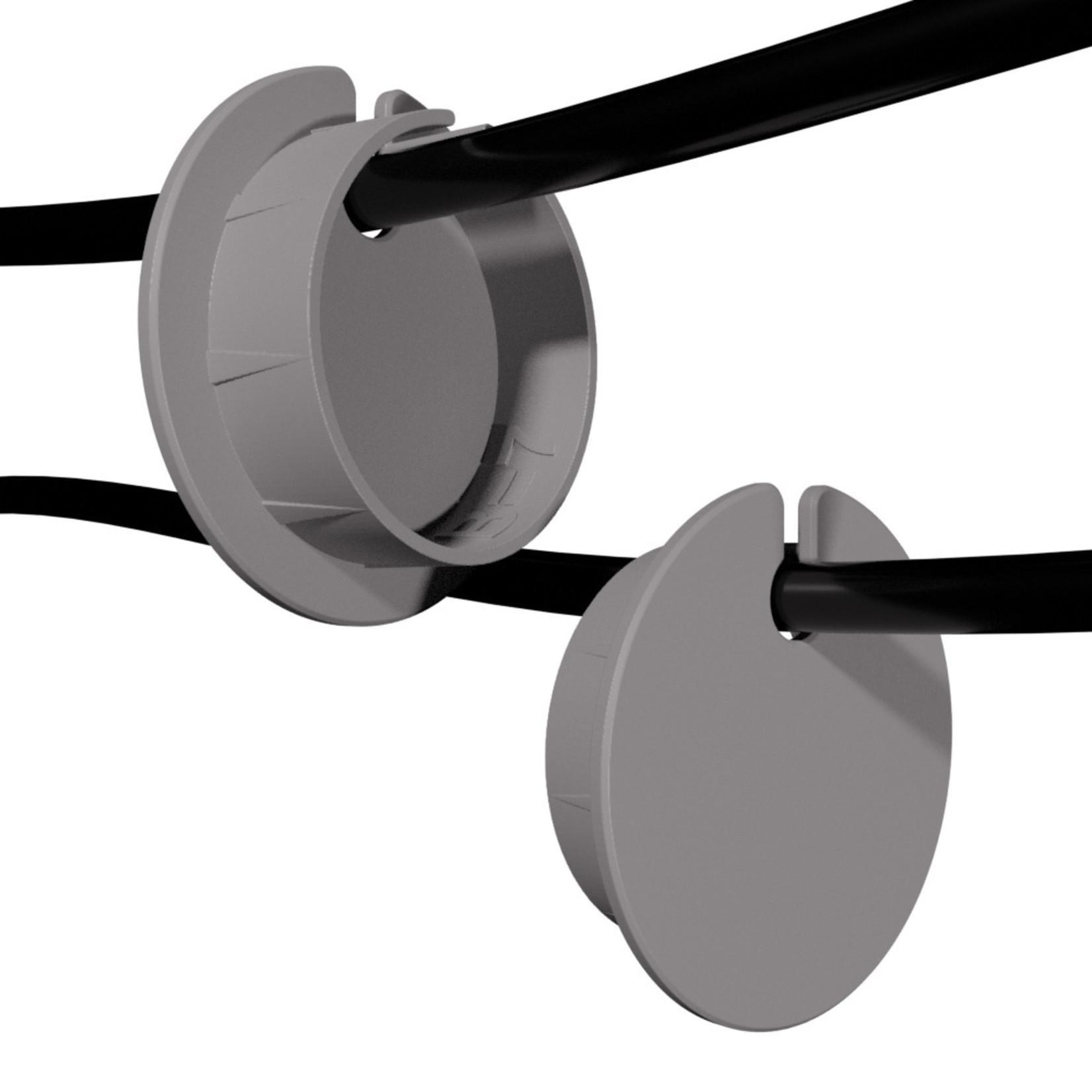 Umake Zijkant kabeldoorvoer Ø 61-80mm | Afmetingen en kleur volledig aanpasbaar