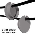Umake Side cableguide Ø 81-90 mm