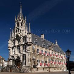 Ansichtkaart Stadhuis Gouda