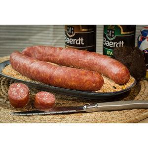 Wroetvarkensvlees Friese droge worst