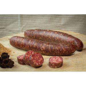 Rundvlees uit de regio Runder droge worst