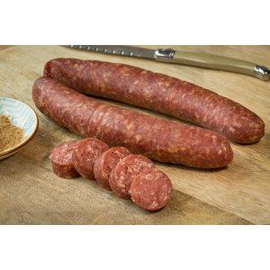 Wroetvarkensvlees Beef Jerkey droge worst